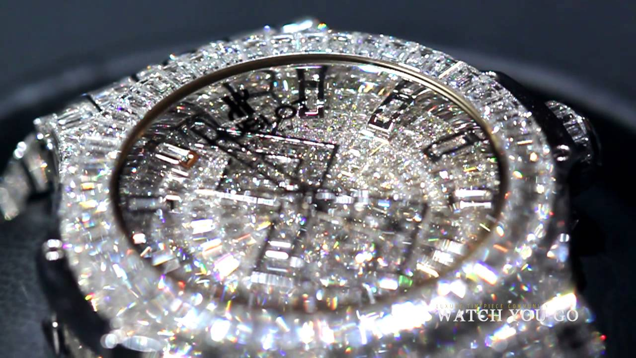 Platz 12: Hublot Big Bang Diamond – 4.5 Millionen Euro