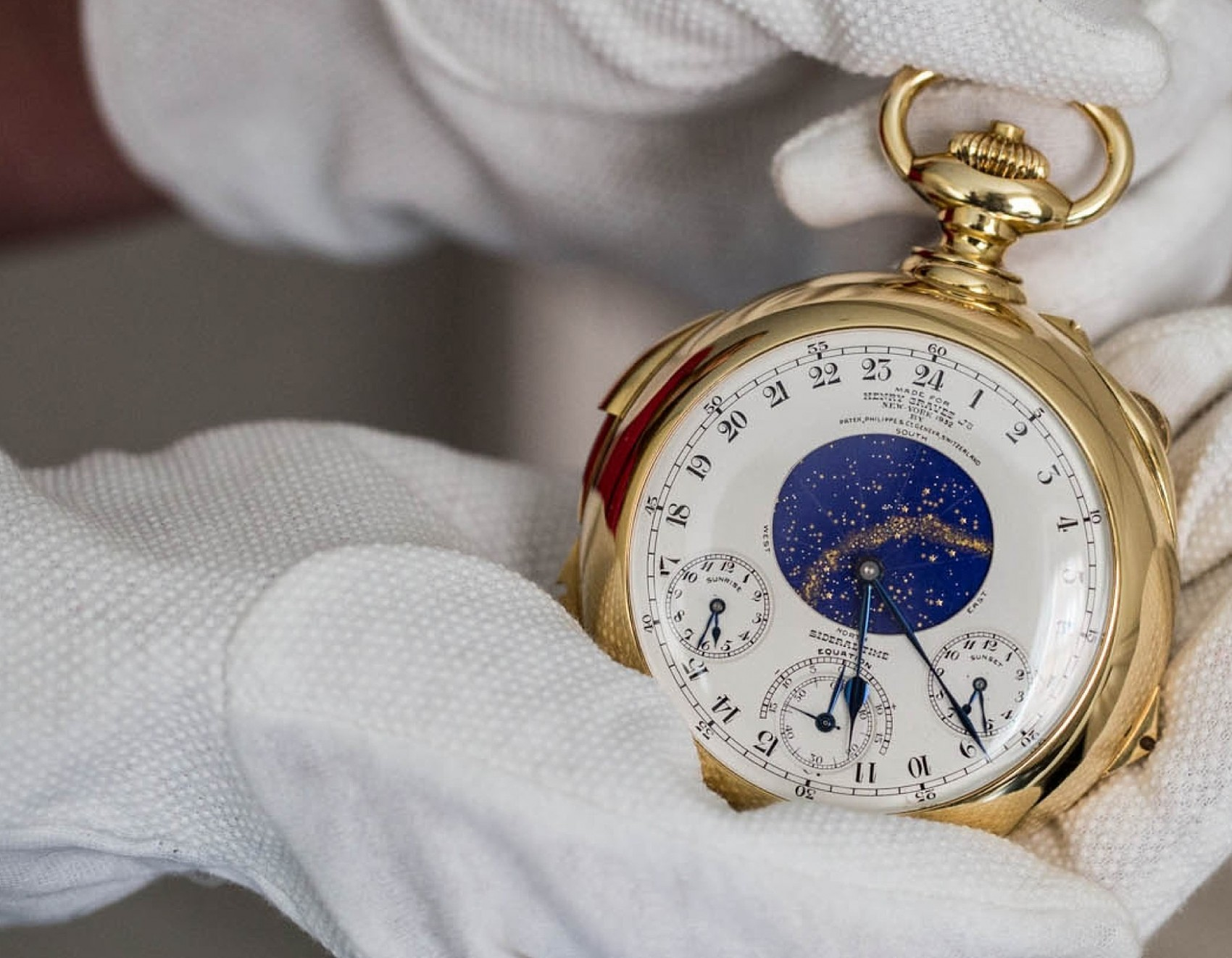 Platz 6: Patek Philippe Henry Graves Supercomplication – 21.6 Millionen Euro